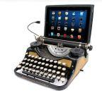 Skrivemaskin med iPad