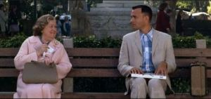 Life is like a box of chocolates_Forrest Gump_Paramount 1994